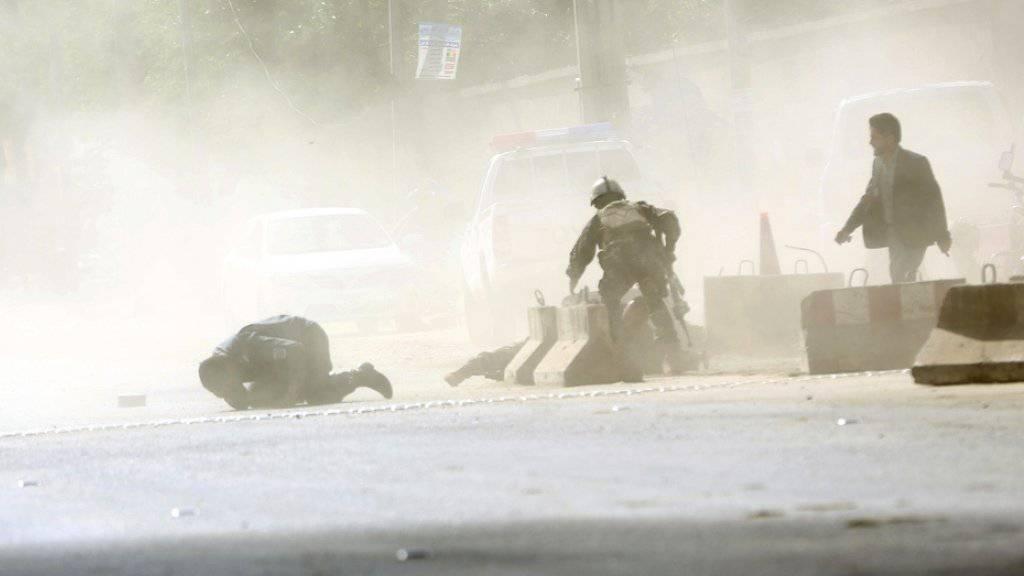 Journalisten bei IS-Doppelanschlag in Afghanistan getötet
