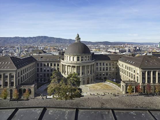 Die ETH Zürich rutscht um einen Rang ab und landet neu auf Platz 11.