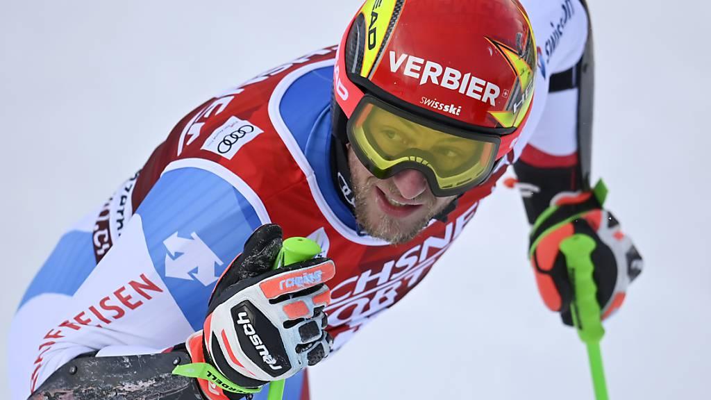 Justin Murisier hat das Hundertstel-Glück an den Schweizer Meisterschaften auf seiner Seite