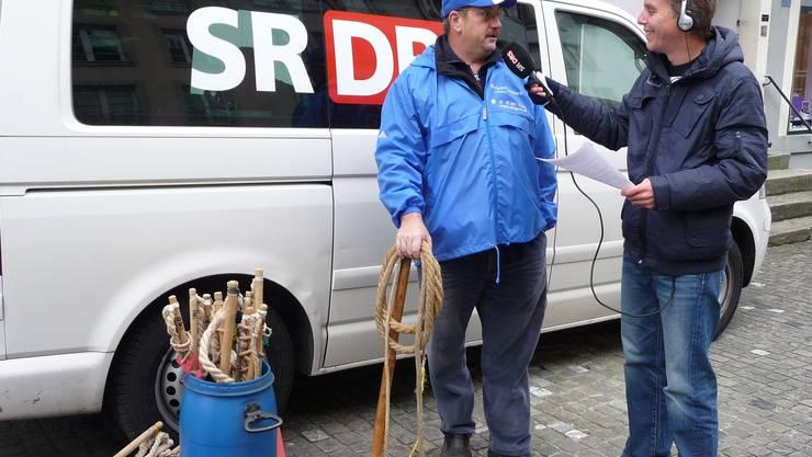 Franco Ortelli von den Chlausklöpfern im Interview.