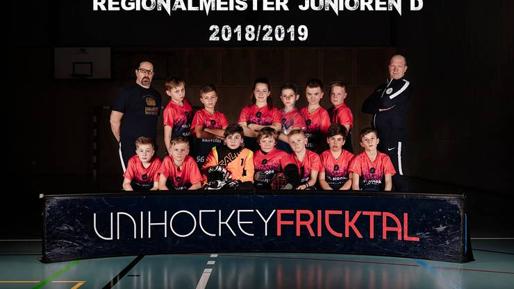 Teamfoto D-Junioren Saison 2018/2019