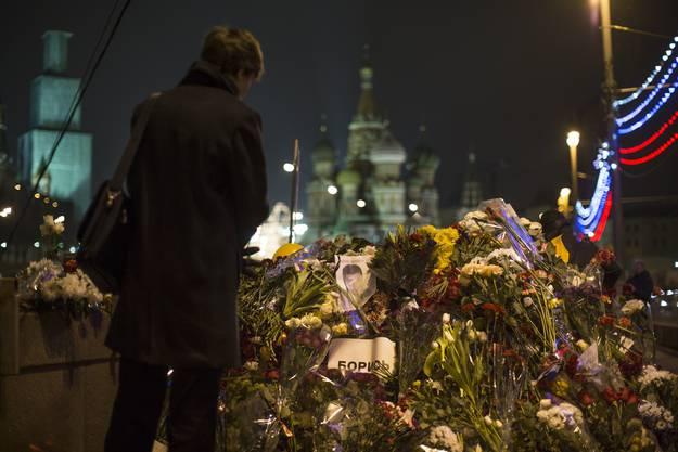 Beisetzung von Kremlkritiker Boris Nemzow