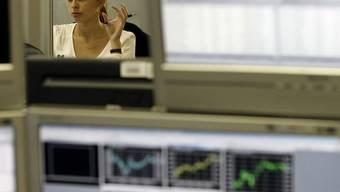 Mitarbeiterin der russischen Bank Otkritie (Symbolbild)