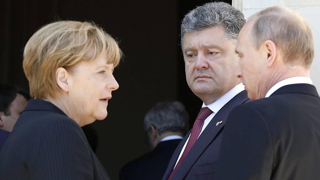 Einen Anlass für Scham nannte die deutsche Bundeskanzlerin Angela Merkel den Überfall der deutschen Wehrmacht auf die Sowjetunion im Zweiten Weltkrieg. Der Einmarsch jährt sich heute zum 80. Mal. (Archivbild)