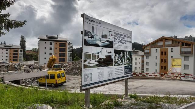 Wohnungsbau in Laax (Symbolbild)