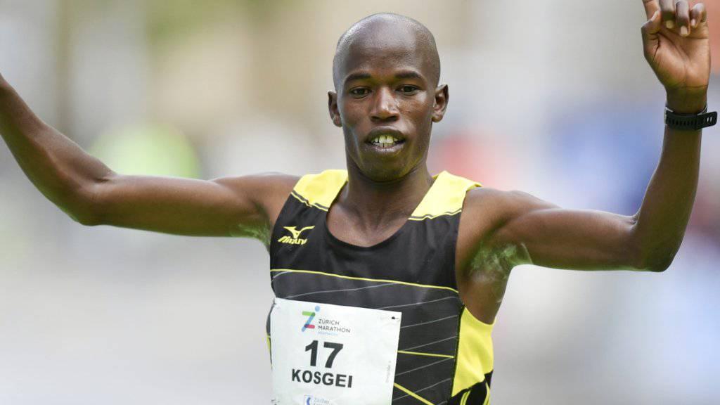 Edwin Kosgei - Sieger des Zürich Marathons 2019