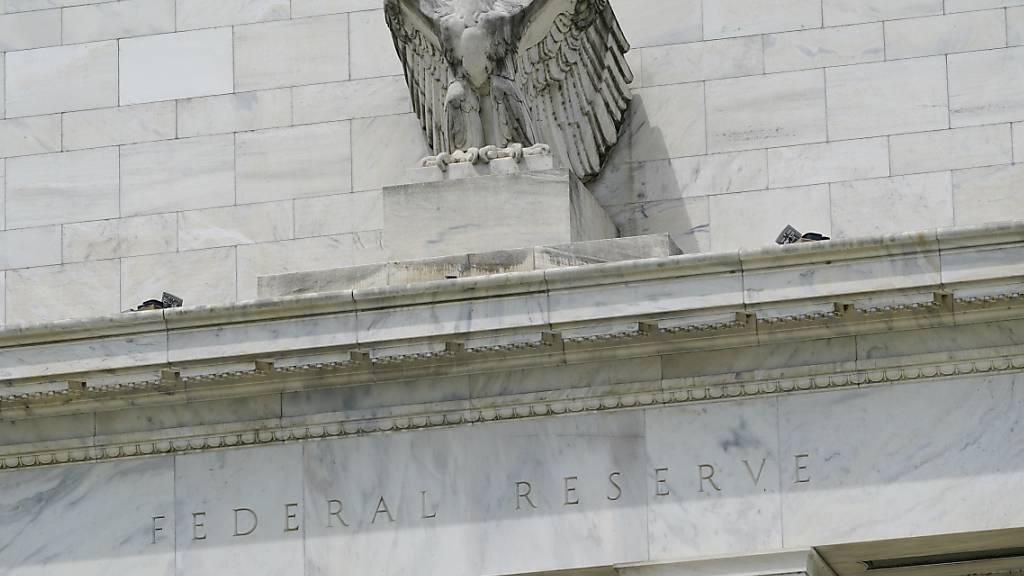 Gebäude der US-Notenbank in Washington. (Archivbild)