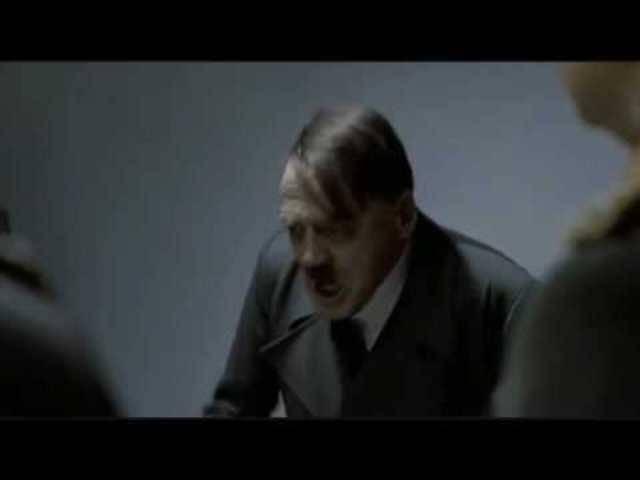 Bruno Ganz in seiner Paraderolle als Adolf Hitler in «Der Untergang»