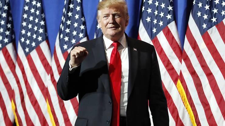 Ein Richter hat in den USA die Pläne von US-Präsident Donald Trump zum Mauerbau an der Grenze zu Mexiko per Notstandverordnung zunächst auf Eis gelegt. (Archivbild)