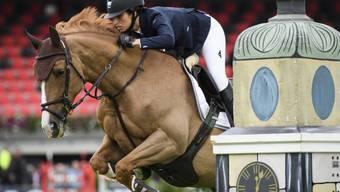 Janika Sprunger springt mit Bonne Chance aufs Podest