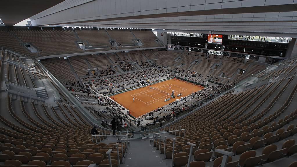 Beim French Open sind wieder mehr Zuschauer zugelassenals 2020