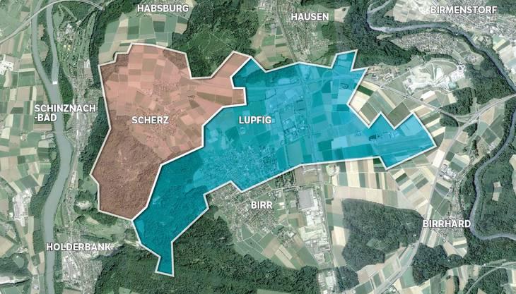 Die Gemeinden Scherz und Lupfig diskutieren über eine Fusion.