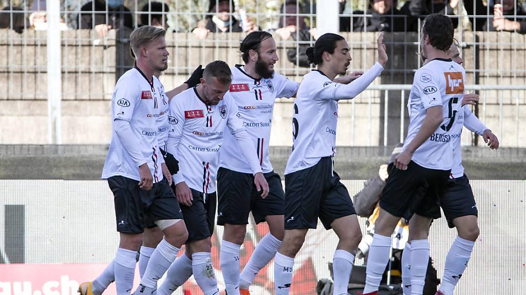 Last-Minute-Sieg von Aarau gegen Xamax