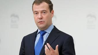 Der russische Regierungschef Dimitri Medwedew