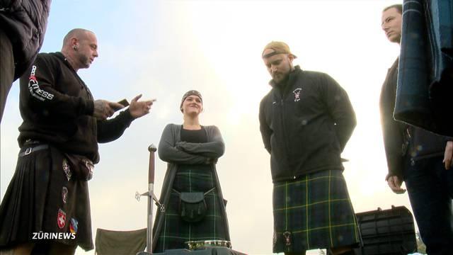 Mit dem Claymore Clan an den Highland Games