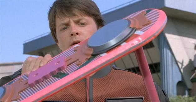 Das Hoverboard aus Zurück in die Zukunft