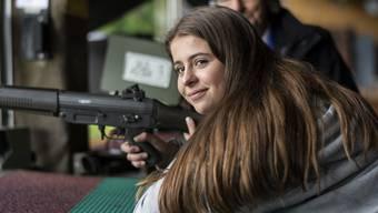 Die Schützenkönigin Neva Menzi