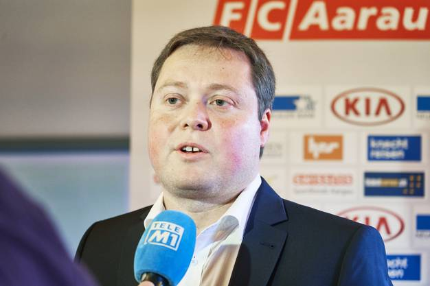 Philipp Bonorand, Corona-Krisenmanager beim FC Aarau, schon bevor er am 26. Mai den Klubvorsitz übernimmt.