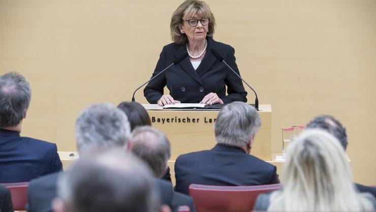 Charlotte Knobloch am Mittwoch bei ihrer Rede in München.