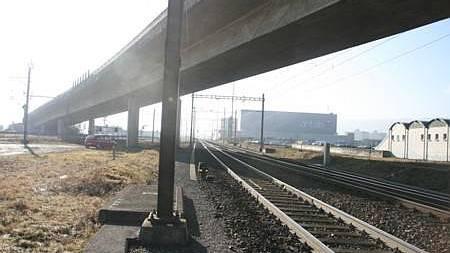 Auf der Ostseite des Bahnhofes sind zwei neue Gleise geplant