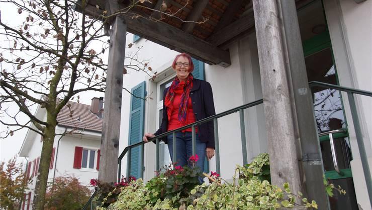 Ursula Marfort wird auch in Zukunft noch in «ihrem» Gemeindehaus anzutreffen sein.