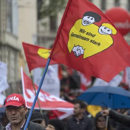 1. Mai-Demo in Basel