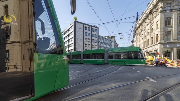 Die Basler Verkehrs-Betriebe verringern kommende Woche ihren Takt.