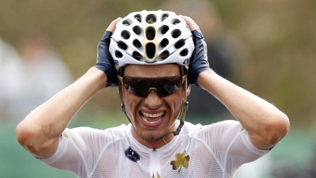 Gegen den Radfahrer Stefan Denifl wird wegen Dopings Anklage erhoben