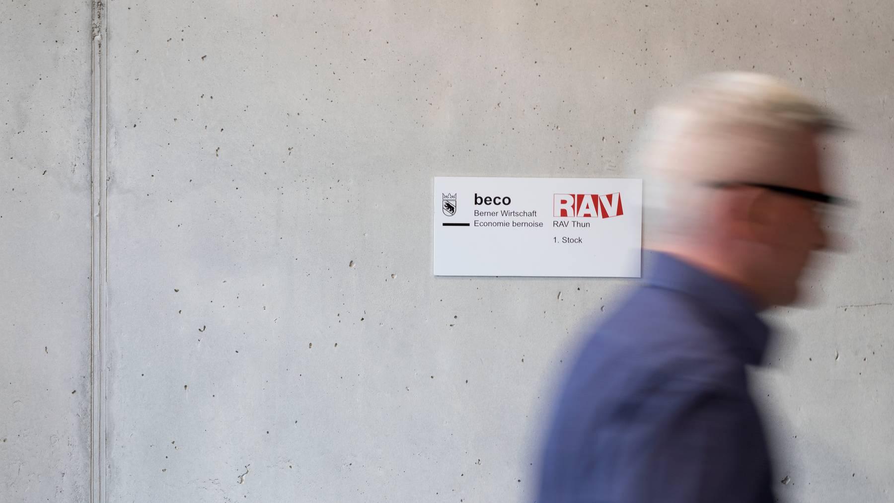Im Februar waren weniger Arbeitslose bei den Regionalen Arbeitsvermittlungszentren (RAV) eingeschrieben.