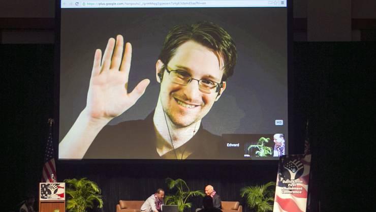 Edward Snowden darf in Russland bleiben. (Archivbild)