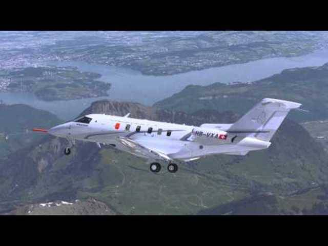 Der Jungfernflug der PC-24