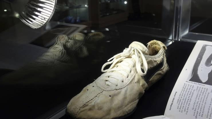 War einem kanadischen Sammler über 400'000 Dollar wert: ein Paar fast 50 Jahre alter Nike-Sportschuhe. (Archivbild)