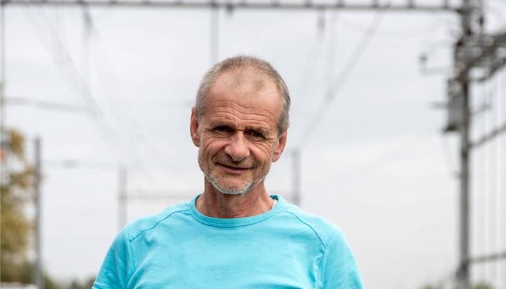 Daniel Cattin aus Lommiswil ist pensionierter Raumplaner. Mit seinen Ideen kämpft er gegen die Schliessung der Bahnlinie zwischen Solothurn und Moutier.