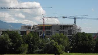 Die CSL-Behring Fabrik wächst in die Höhe.
