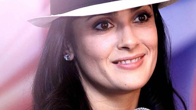 Auszeichnung für die Latina: Schauspielerin Salma Hayek (Archiv)