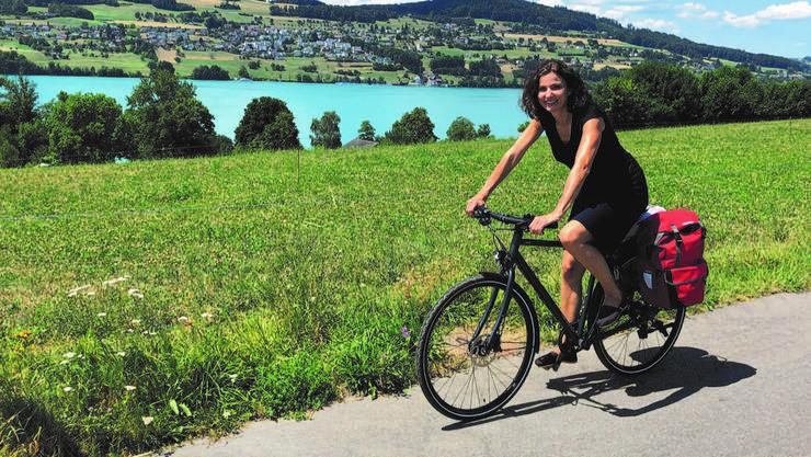 Ist gerne mit dem Velo unterwegs: SP-Nationalrätin Gabriela Suter.