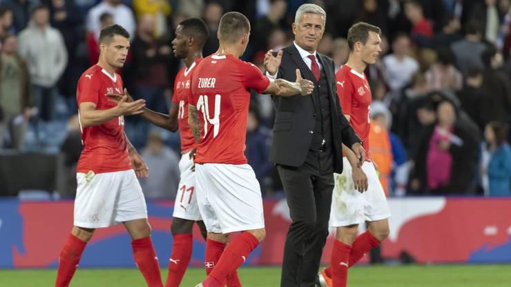 Schlusspfiff – die Schweiz verliert gegen England mit 0:1.