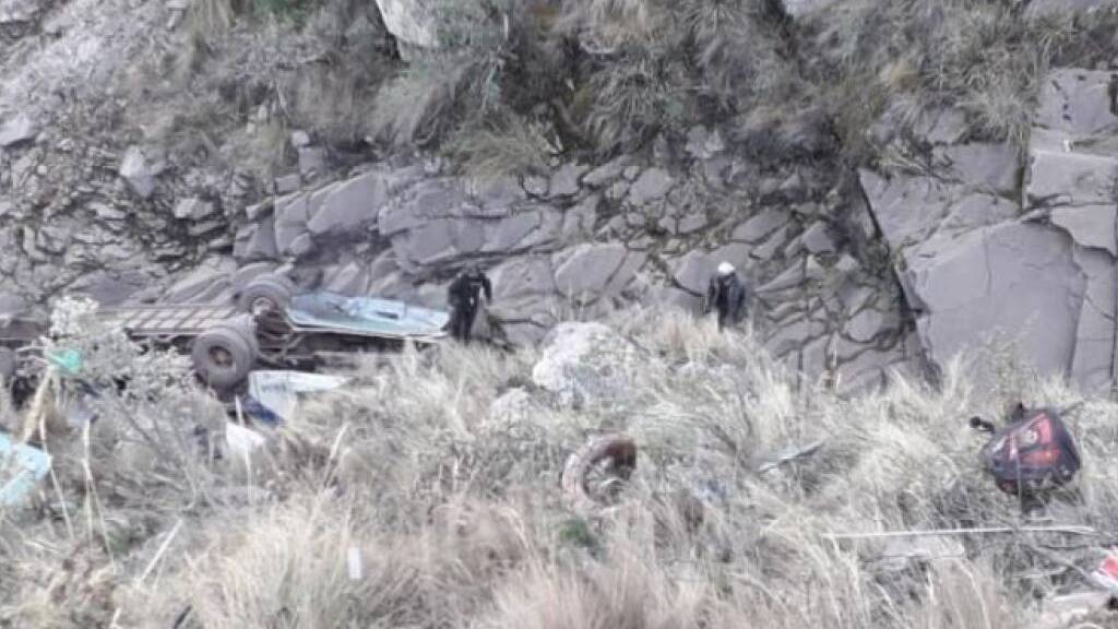 Mindestens 24 Tote bei Busunglück in Bolivien