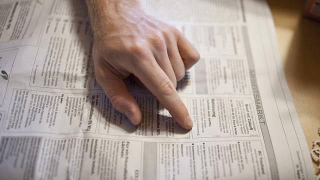 Die Zahl der Stellensuchenden sank um 86 auf 6759 Personen. (Symbolbild)