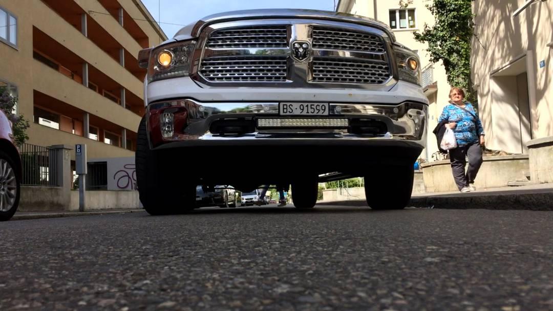 In Aktion: Christian Mettmann und sein Dodge Ram 1500 Pick-up