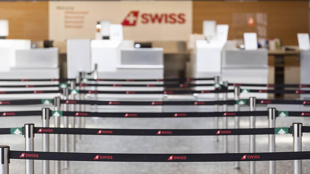 Auch im Mai herrschte am Flughafen Zürich vor allem Leere. (Archivbild)