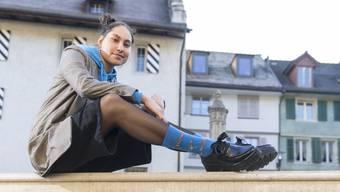 Die junge Bruggerin Lilith Föhn will nach Abschluss ihrer künstlerischen Ausbildung international als Model durchstarten