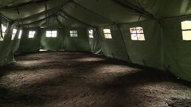 Asylzelte im Aargau