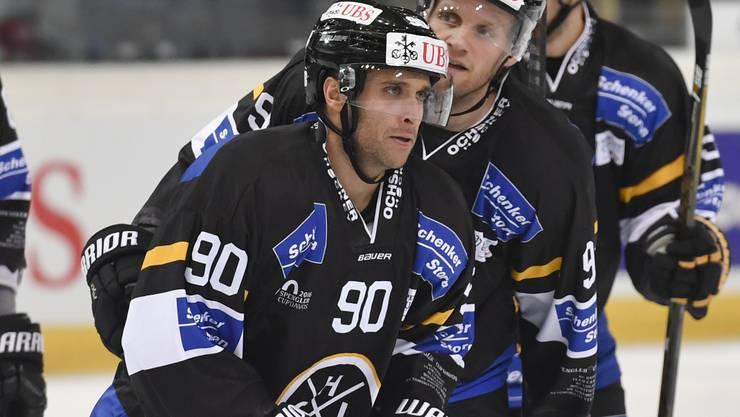 Half während des Spengler-Cups beim HC Lugano aus: Ryan Vesce wechselt auf kommende Saison hin zum EHC Olten.