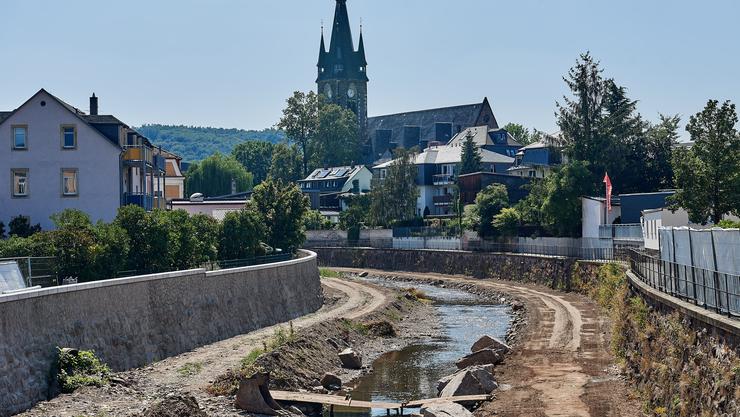Die Stadt Freital im Bundesland Sachsen.