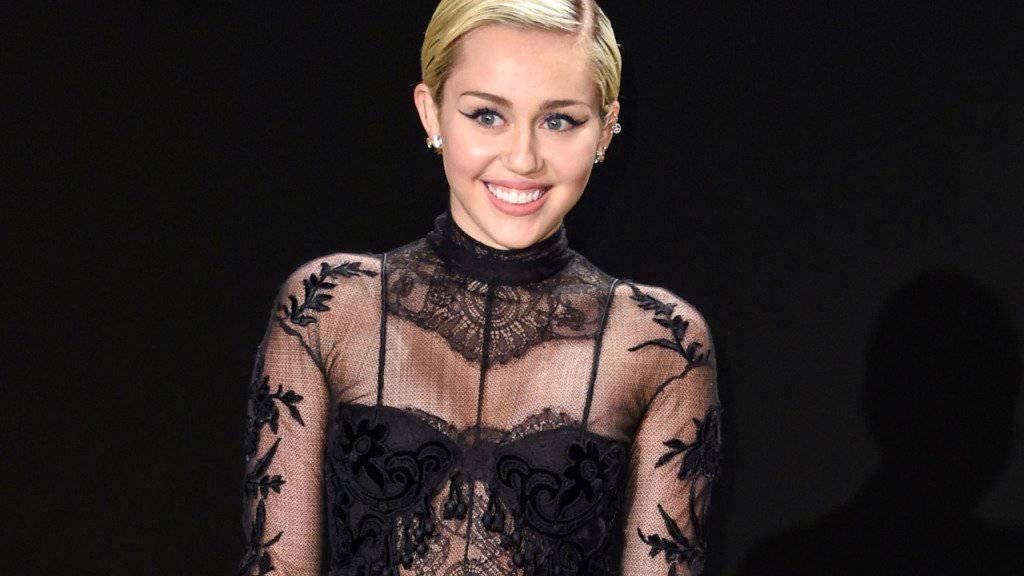 Engagiert sich für sexuelle Vielfalt: Sängerin Miley Cyrus (Archivbild)