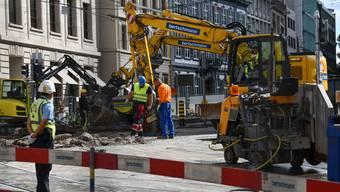 Bankverein-Baustelle
