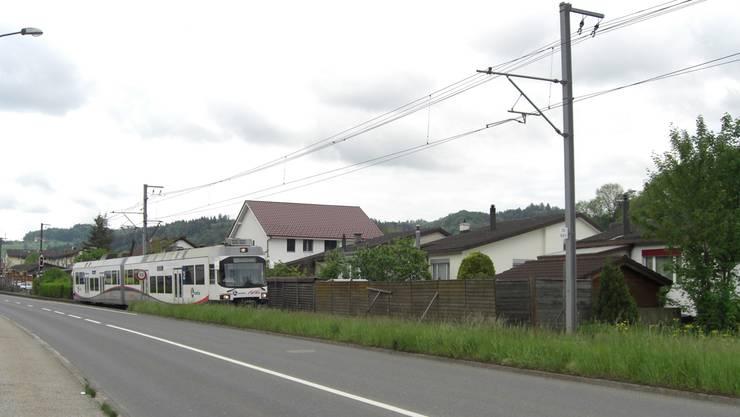 720000 Franken kostet die Lärmschutzwand entlang der Jurastrasse.
