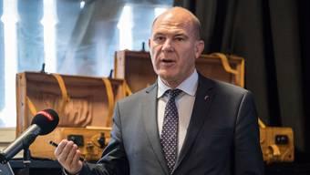 Finanzdirektor Anton Lauber (CVP) will den Leistungsdruck auf die Baselbieter Verwaltungsangestellten erhöhen. Kenneth Nars