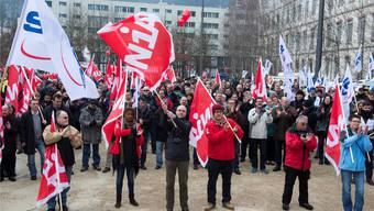 Der Stellenabbau bei GE 2016 sorgte im Vorfeld für Proteste, der Abbau bei Ansaldo im Nachhinein.